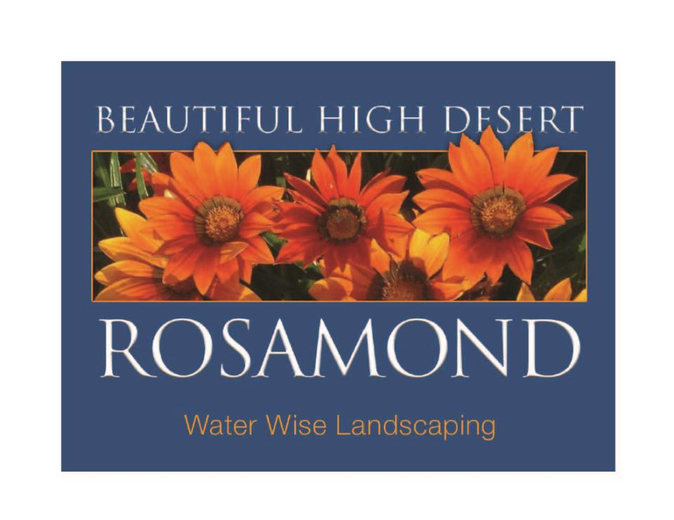 Beautiful gardening in Rosamond